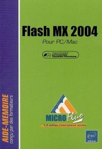 Flash MX 2004 pour PC-Mac : Macromedia authorized training program