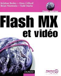 Flash MX et vidéo