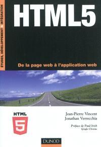 HTML 5 : de la page Web à l'application Web