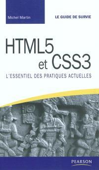 HTML 5 et CSS 3 : l'essentiel des pratiques actuelles