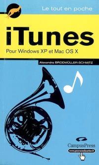 iTunes pour Windows XP et Mac OS X : bleu