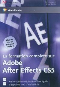 La formation complète sur Adobe After Effects CS5 : plus de 13h de tutoriels vidéo !