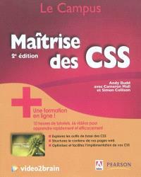 Maîtrise des CSS + une formation en ligne