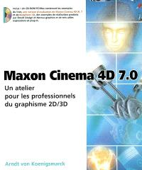 Maxon cinema 4D 7