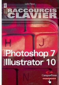 Photoshop 7 & Illustrator 10 : raccourcis clavier