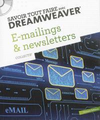 Savoir tout faire avec Dreamweaver : e-mailings & newletters