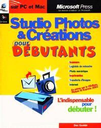 Studio photos et créations pour débutants