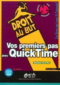 Vos premiers pas avec QuickTime