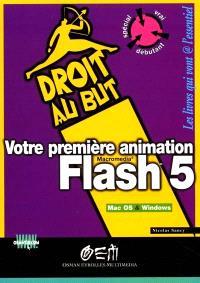 Votre première animation Flash 5
