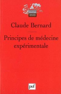 Principes de médecine expérimentale