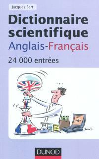 Dictionnaire scientifique anglais-français : 24.000 entrées