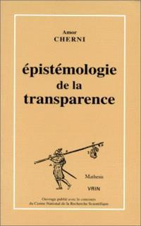Epistémologie de la transparence : sur l'embryologie de A. von Haller