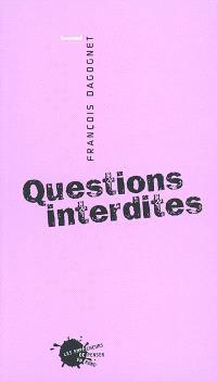 Questions interdites