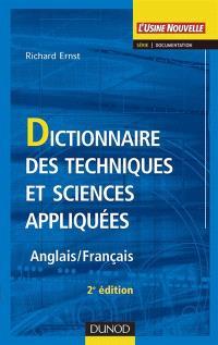 Dictionnaire des techniques et sciences appliquées : anglais-français