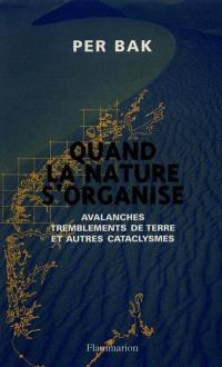 Quand la nature s'organise : avalanches, tremblements de terre et autres cataclysmes