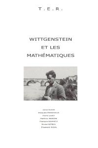 Wittgenstein et les mathématiques