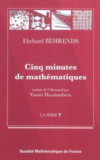 Cinq minutes de mathématiques