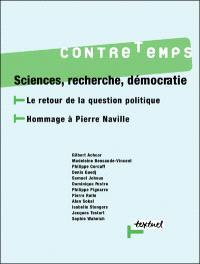 Contretemps. n° 14, Sciences, recherche, démocratie