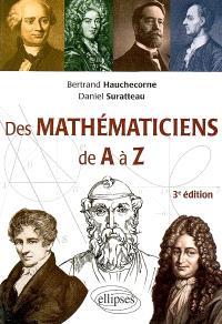 Des mathématiciens de A à Z