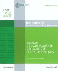 Indicateurs de sciences et de technologies : rapport de l'Observatoire des sciences et des techniques