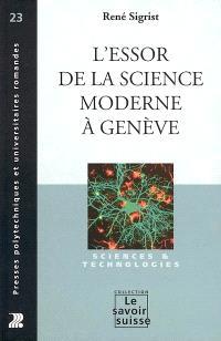 L'essor de la science moderne à Genève