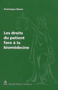 Les droits du patient face à la biomédecine