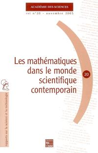 Les mathématiques dans le monde scientifique contemporain