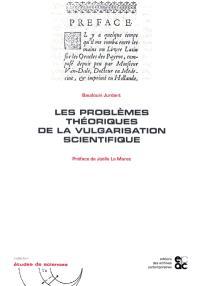 Les problèmes théoriques de la vulgarisation scientifique