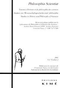 Philosophia scientiae. n° 5-2