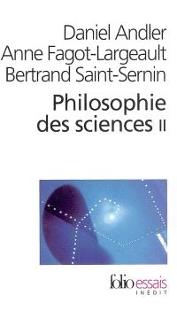 Philosophie des sciences. Volume 2