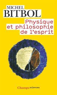 Physique et philosophie de l'esprit