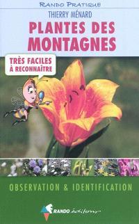 Plantes des montagnes très faciles à reconnaître : observation & identification