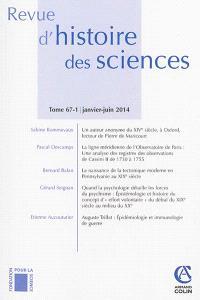 Revue d'histoire des sciences. n° 1 (2014), De la logique philosophique à la logique mathématique