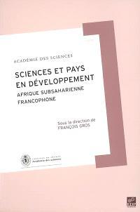 Science et pays en développement : Afrique subsaharienne francophone