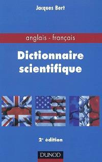 Dictionnaire scientifique anglais-français