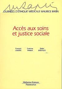 Journées d'éthique médicale Maurice Rapin : accès aux soins et justice sociale