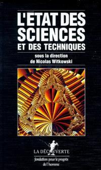 L'Etat des sciences et des techniques