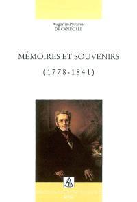 Mémoires et souvenirs : 1778-1841