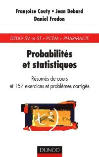 Probabilités et statistiques : rappels de cours et exercices