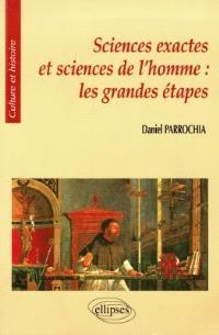 Sciences exactes et sciences de l'homme : les grandes étapes