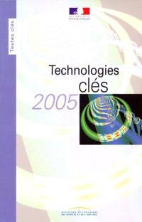 Technologies clés 2005