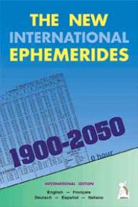 The new international ephemerides 1900-2050