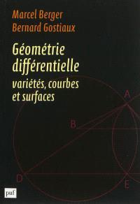 Géométrie différentielle : variétés, courbes et surfaces
