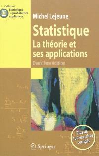 Statistique : la théorie et ses applications