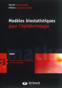 Modèles biostatistiques pour l'épidémiologie : cours