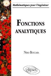 Fonctions analytiques
