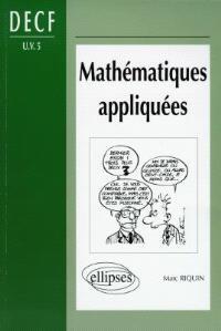 Mathématiques appliquées : DECF UV5 : DESCF, MSTCF, MSG