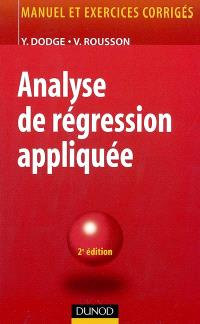 Analyse de régression appliquée