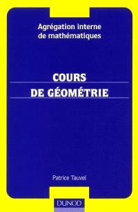 Cours de géométrie : agrégation de mathématiques