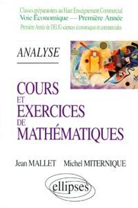 Cours et exercices de mathématiques. Volume 2, Analyse
